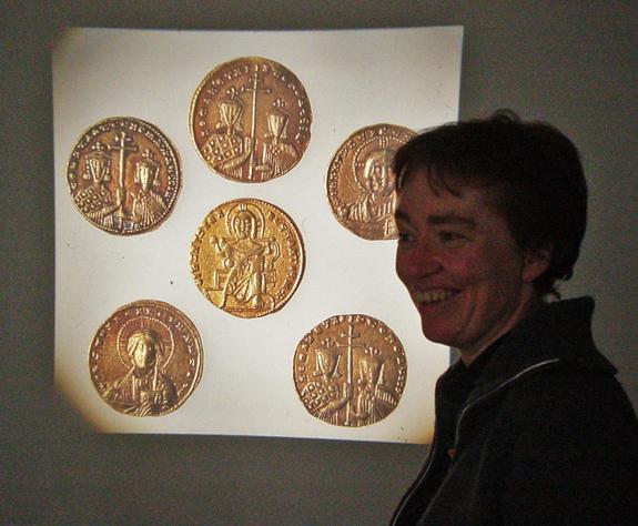 Robert Meyer - Eksempler på arbeidsoppgaver på Myntkabinettet