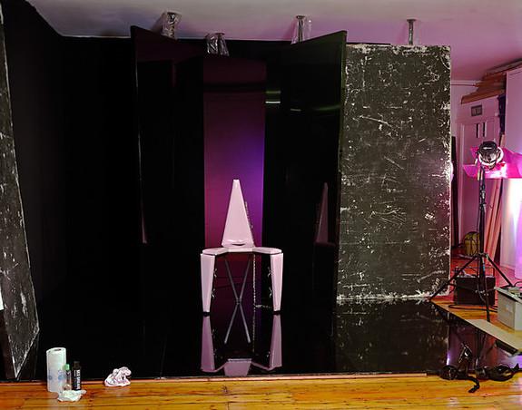 Jo Broughton - Pink Chair Set