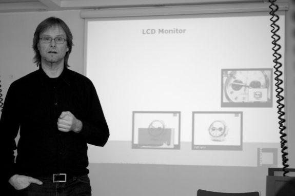 Frank Hesjedal - Arild Bergseth på teoridelen