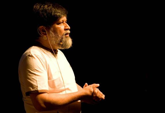 Frank Hesjedal - Shahidul Alam holder foredrag på Nordic Light