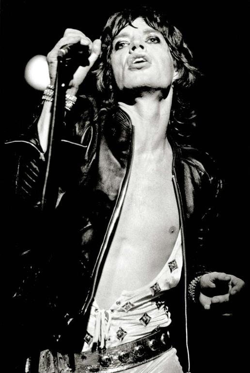 Fin Costello - Mick Jagger.