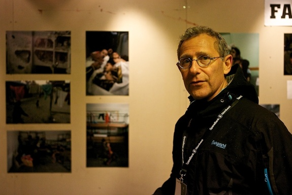 Frank Hesjedal - Stuart Franklin på utstillingen på Nordic Light