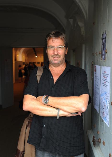 Maria Lundberg - Terje Bringedal, leder i Pressefotografenes Klubb og primus motor bak Dokumentfestivalen.