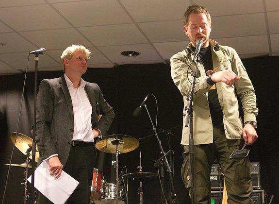 Per Inge Østmoen  - Fra venstre: Roar Sandvik og Roger Brendhagen
