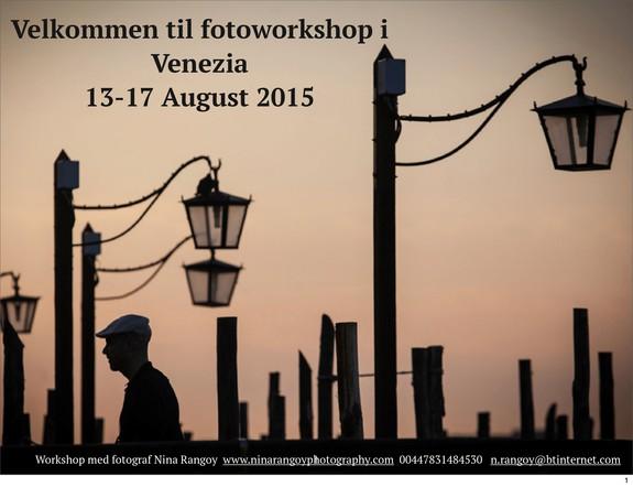 Nina Rangøy - Venezia foto workshop