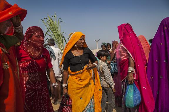 Linda Cartridge - Fotokurs i India