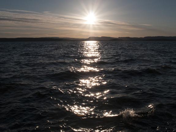 - Solnedgang fra Ljanskollen