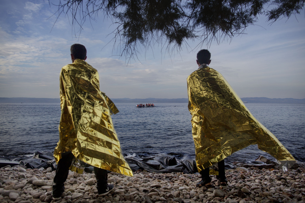 Årets bilde. Flukten til Europa.