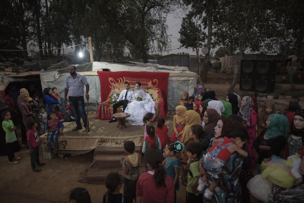 Årets fotojournalist. Bryllup i flyktningleiren