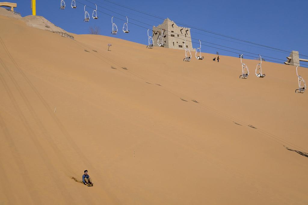 1. pris Klima og miljø. The land of sand