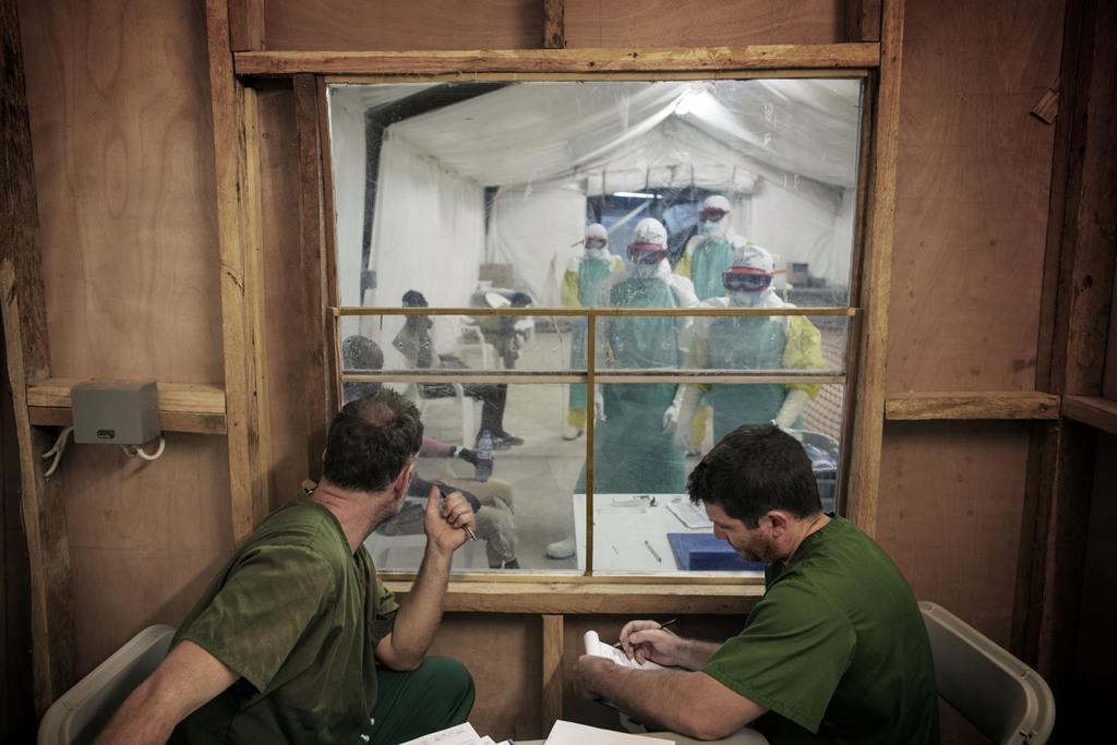 1. pris Nyhetsreportasje. Ebola
