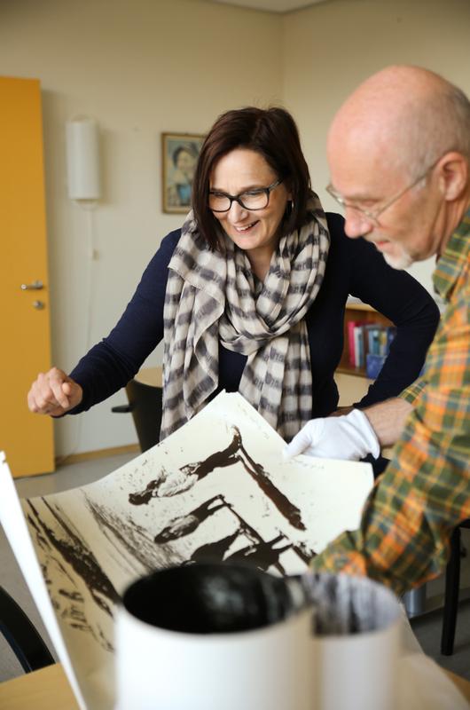 Monica Milch Gebhardt/Vadsø museum - Ruija kvenmuseum - Kivijärvigave 2