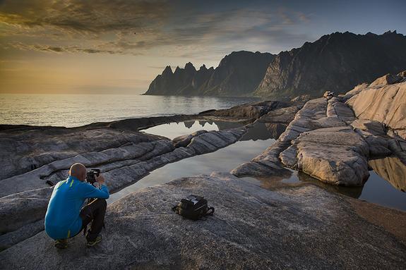Arnfinn Johnsen - Fotograf på Senja