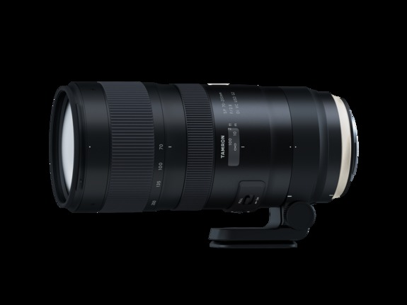 Tamron  - Tamron SP 70-200mm F/2.8 Di VC USD G2 fra siden