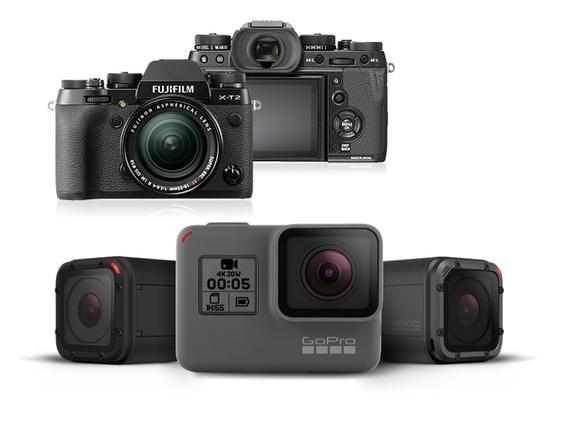 - Snart har vi produkter fra Fujifilm og Gopro