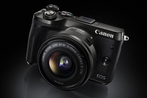 - EOS M6 er en EOS 80D uten søker og speil.