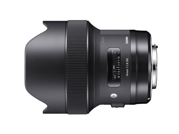 - Sigma 14mm f/1.8 DG HSM Art
