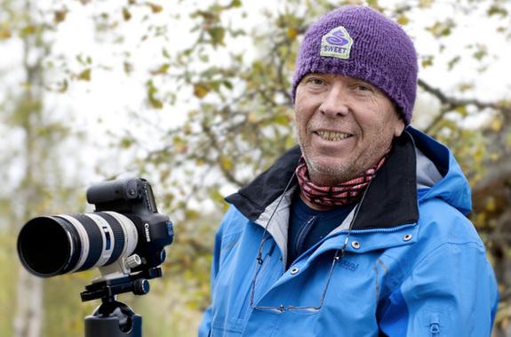 - Canonambassadør Jørn Areklett Omre skal snakke naturfoto