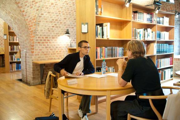 Arne B. Langleite/Preus museum - Portfoliovisning i Preus museums bibliotek 2009