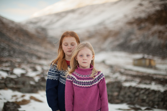 Foto: Tina Signesdottir Hult - Fra bildeserien 'Children of the North'