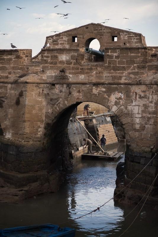 Grandefoto - Havneliv i Essaouira