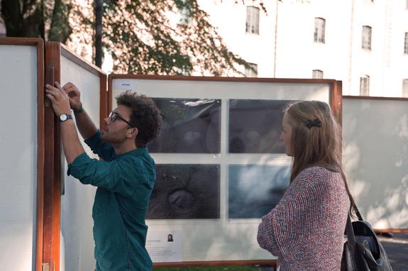 Arne B. Langleite/Preus museum - Montering av Juryert utstilling