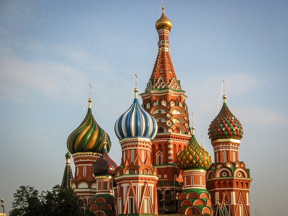 Alina Pettersen - Fototur til Moskva