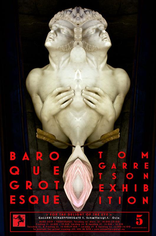 Tom Garretson - Plakat - Baroque Grotesque
