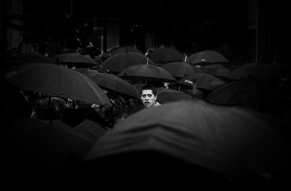 Morten Tellefsen - Black umbrellas