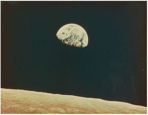 Jim Lovell - Earthrise fra Apollo 8