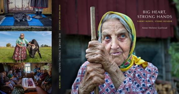 Alle bilder: Anne Helene Gjelstad - Forsiden på boka
