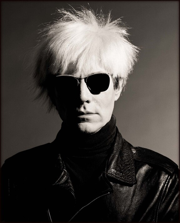 - Andy Warhol, Los Angeles 1986. Copyright Greg Gorman