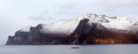 Foto: Jan Inge Karlsen - Inn fra havet
