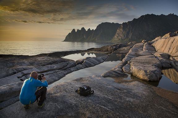 Arnfinn Johnsen - Fotograf på Tungeneset