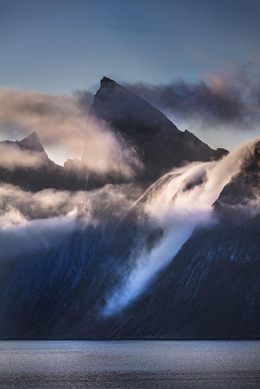 Arnfinn Johnsen - Segla på Senja ved midnatt