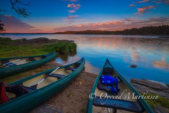 Øyvind Martinsen - Fototur med kano i Vansjø