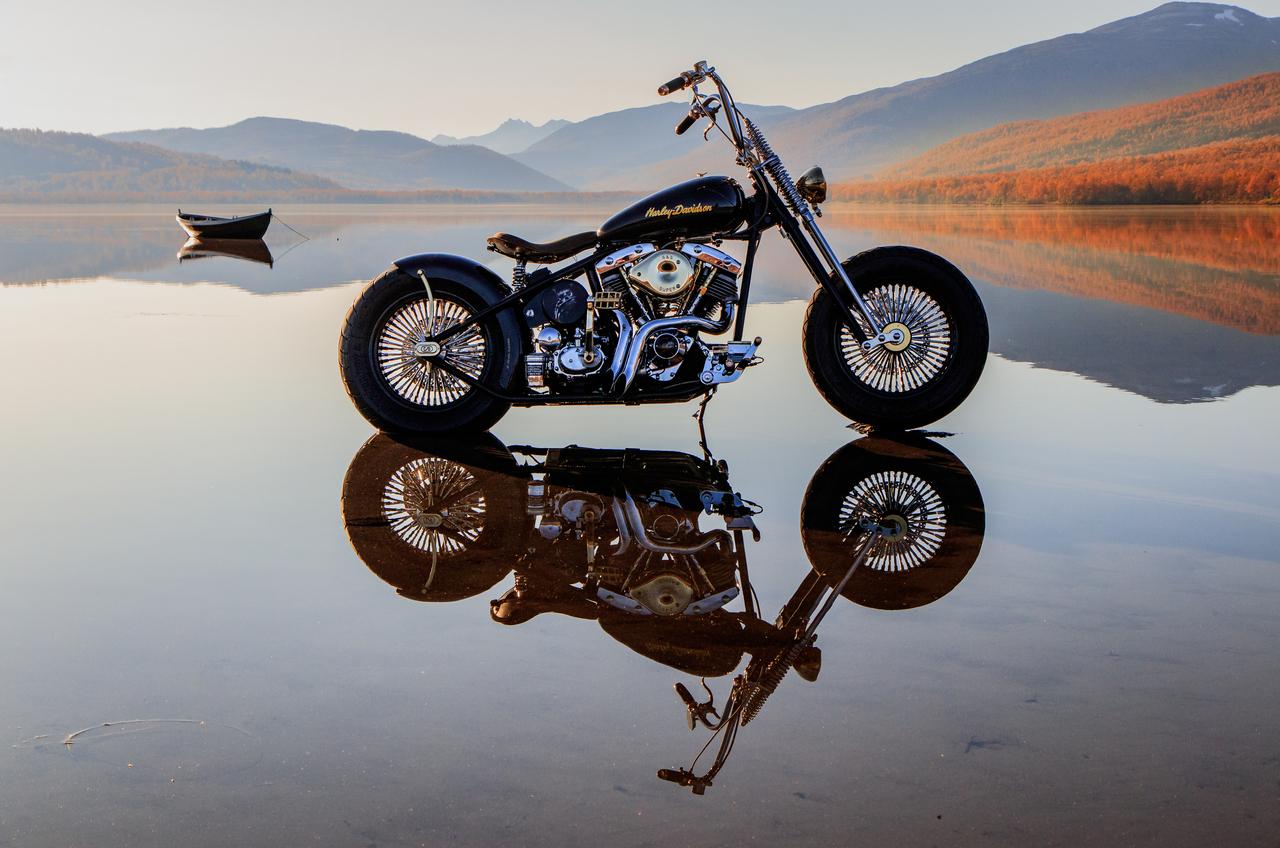 Harley Refleksjoner.