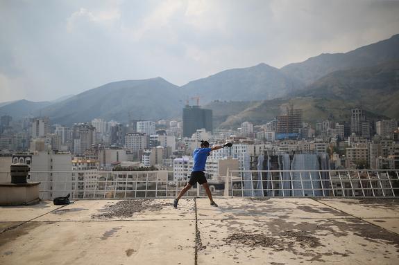 Foto: Farzam Saleh - Rooftop, 2020