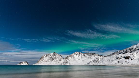©Bjørn Joachimsen - Nordlys i Lofoten.