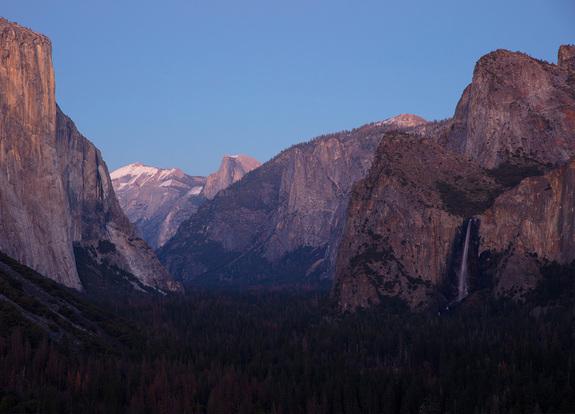 Alle fotos: Per Arne Askeland - Klassisk utsikt over Yosemite Valley