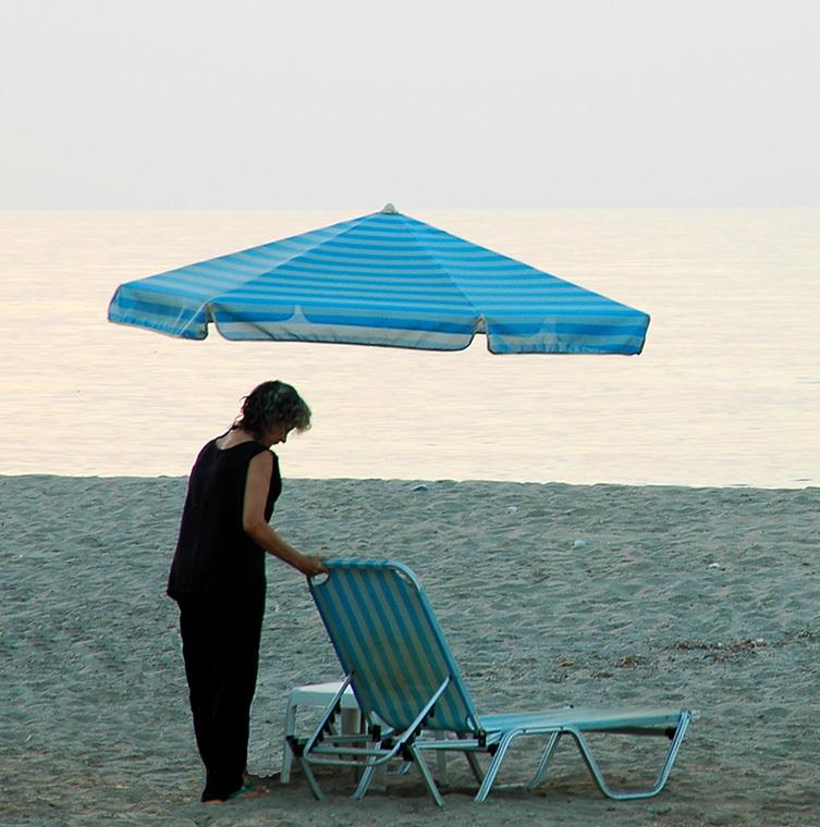 stranda enslig