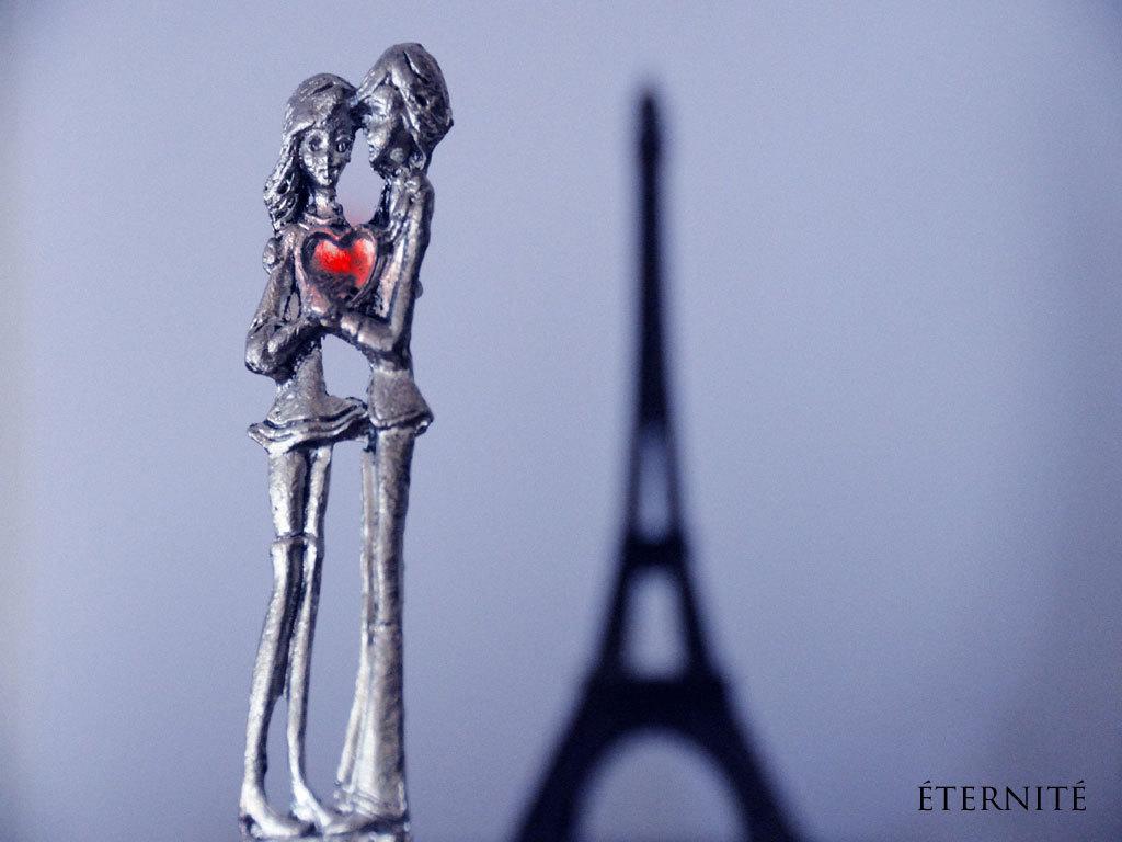 Eiffeltårn Sølv Large